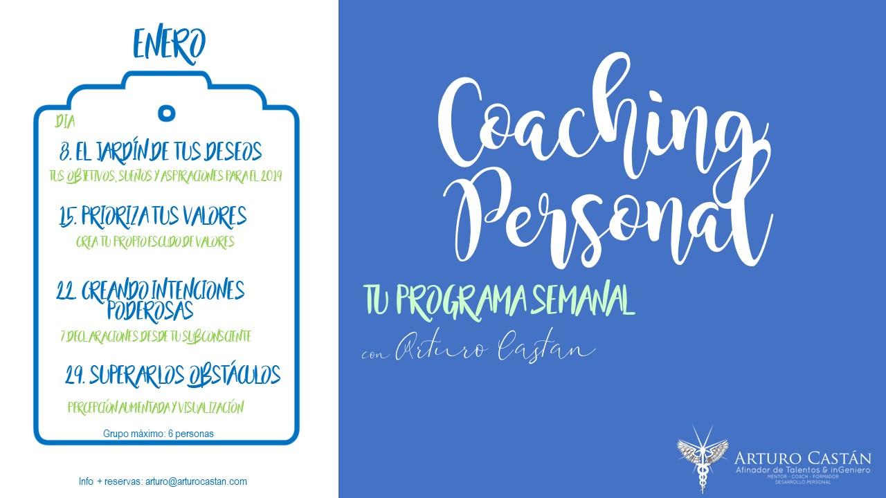Coaching Personal Enero